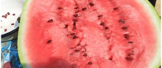 разрезанный арбуз